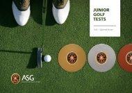 Golf – Spielend lernen - Association Suisse de Golf