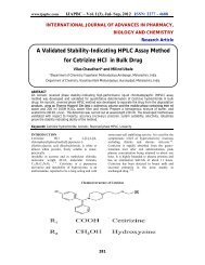 A Validated Stability-Indicating HPLC Assay Method for ... - ijapbc