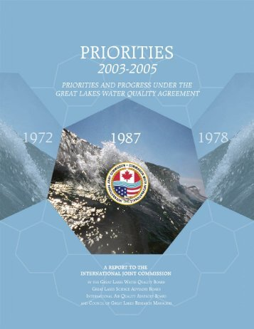 Principles for Review of the Great Lakes Water Quality Agreement