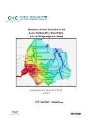 Simulation of Flood Scenarios on the Lower Pembina River Flood ...