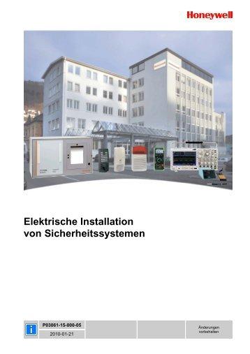 Gemütlich Installationsanleitung Für Elektrische Leitungen ...