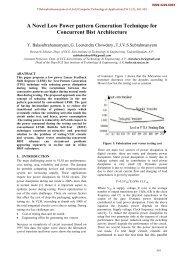 A Novel Low Power pattern Generation Technique for Concurrent ...