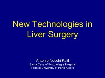New Technologies in Liver Surgery - IJP