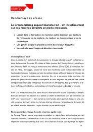 Le Groupe Starrag acquiert Bumotec SA – Un investissement sur ...