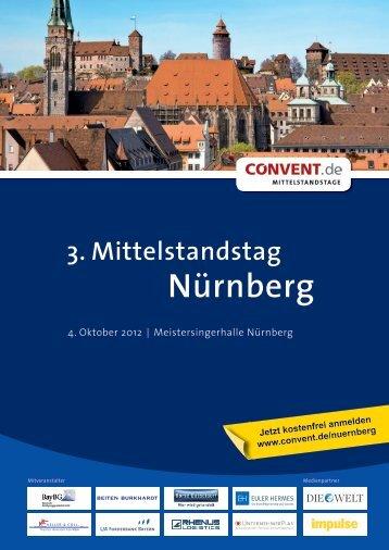 3. Mittelstandstag Nürnberg - Bayerische Beteiligungsgesellschaft ...