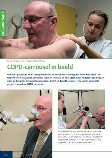 Beschrijving van de COPD carrousel