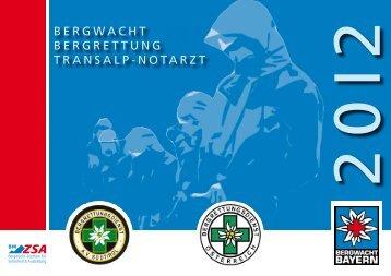 BERGWACHT BERGRETTUNG TRANSALP-NOTARZT - IKAR-CISA