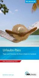 Urlaubs-Pass - IKK classic