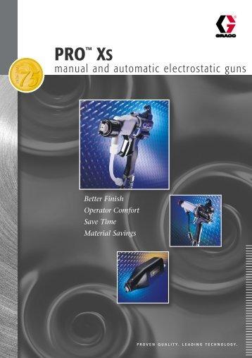 Pro™ XS Electrostatic Guns