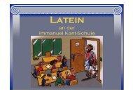 Latein als 2. Fremdsprache (PDF) - Immanuel-Kant-Schule ...