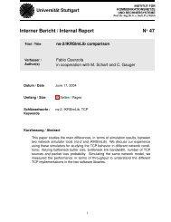 Technical Report - Institut für Kommunikationsnetze und ...
