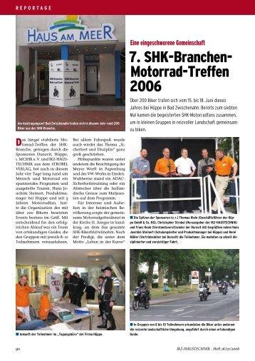 7. SHK-Branchen- Motorrad-Treffen 2006 - IKZ-Haustechnik