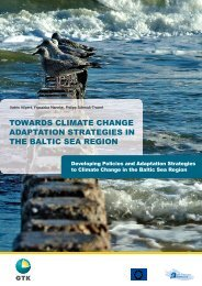 towards climate change adaptation strategies in the ... - Astra-Project