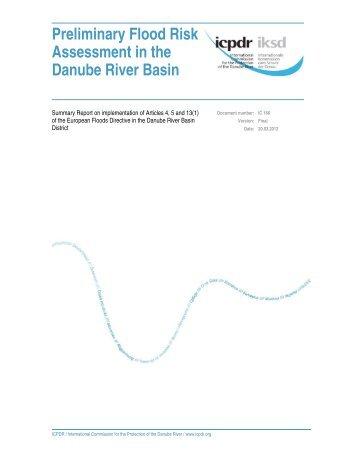 Preliminary Flood Risk Assessment in the Danube River ... - ICPDR