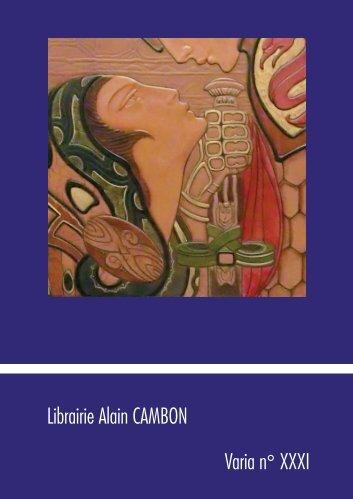 Librairie Alain CAMBON Varia n° XXXI - SLAM