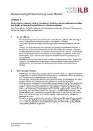 Anlage 1 zur Richtlinie (PDF 22 kB) - ILB