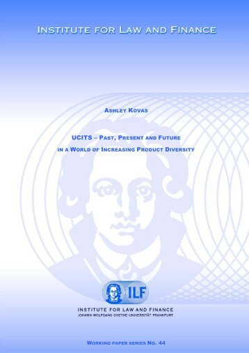 ucits – past, present and future - Institute For Law And Finance