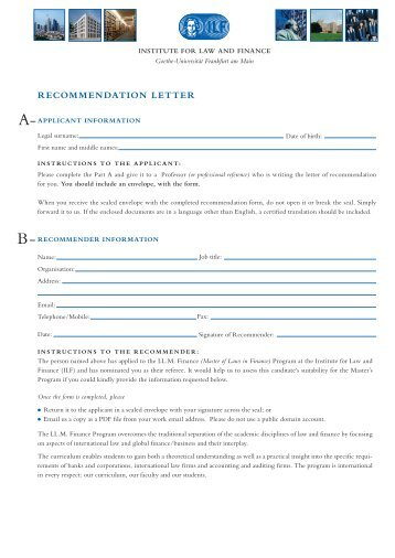 ILF-099_Rec Form RLO 03.indd - Institute For Law And Finance