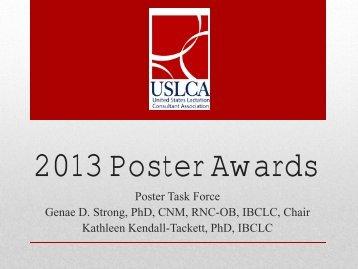 2013 Poster Awards