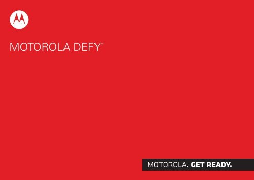 Motorola DEFY - ILEX