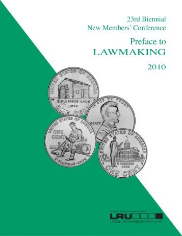 Preface to LAWMAKING - Illinois General Assembly