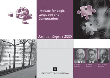 2005 - The Institute for Logic, Language and Computation ...