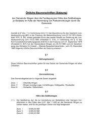 Örtliche Bauvorschriften (Satzung) - Illingen.de