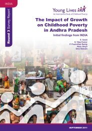 The Impact of Growth on Childhood Poverty in Andhra Pradesh