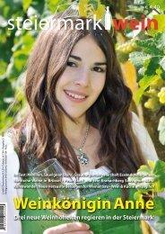 Steiermarkwein Ausgabe 18 - Herbst 2013