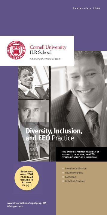 Diversity Management Certificate - ILR School - Cornell University