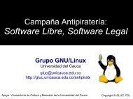 Software Libre, Software Legal - ieRed