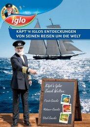 Käpt'n Iglos Snack Welten: - bei Iglo Gastronomie!