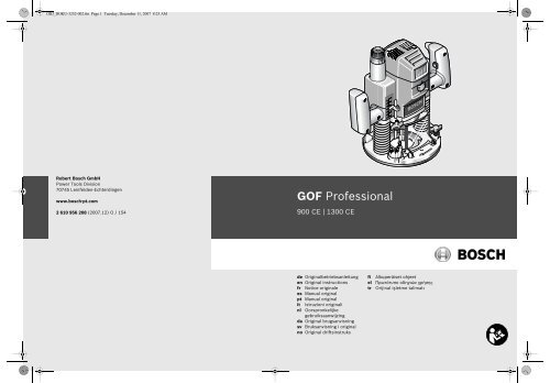 GOF Professional - Grossdepot