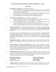 petition for a writ of habeas corpus under 28 usc § 2241 - Southern ...