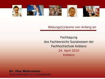 Folien - Ilse Wehrmann