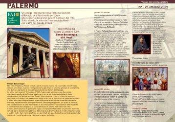 PALERMO - Il Sipario Musicale