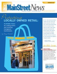 LOCALLY OWNED RETAIL: - Institute for Local Self-Reliance
