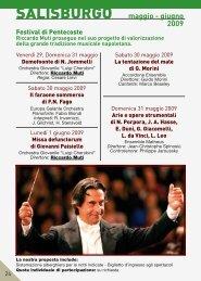 SaliSBURGo - Il Sipario Musicale