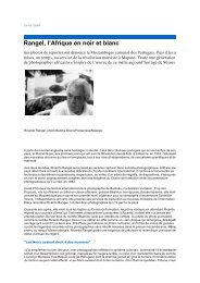 Rangel, l'Afrique en noir et blanc - Iluminando Vidas