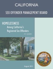 reconsidering california's sex offender residence restriction policies