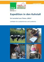Broschüre - information.medien.agrar eV