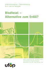 Biodiesel - information.medien.agrar eV
