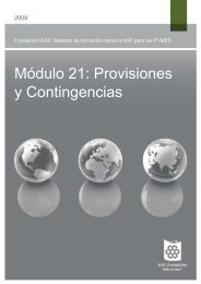 Módulo 21: Provisiones y Contingencias - International Accounting ...