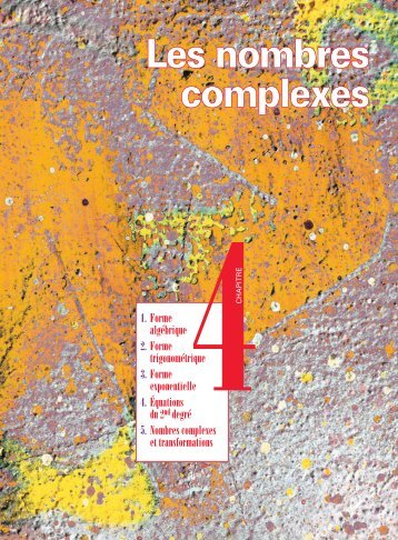 Les nombres complexes - Hachette