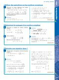 Les nombres complexes - Hachette - Page 7