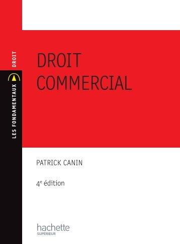 DROIT COMMERCIAL - Hachette