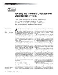 Revising the Standard Occupational Classification system - ILW.com