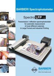 BARBIERI Spectrophotometer Transmission / reflection ... - basiccolor