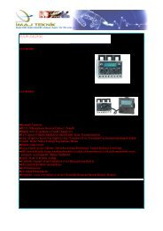 EOCR-3DZ EOCR-FDZ •Kompak Tasarım •MCU ... - İmaj Teknik