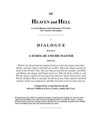 OF HEAVEN and HELL - ImagoMundi